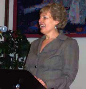 Nancey West Speaking